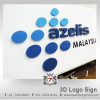 3D Box Up Logo Sign