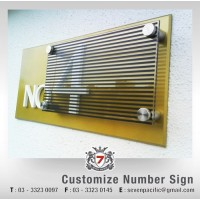 Customize Number Sign