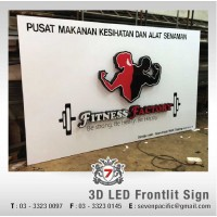 3D LED Front-lit Sign