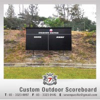 Custom Outdoor Scoreboard