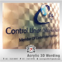 Acrylic 3D Wording
