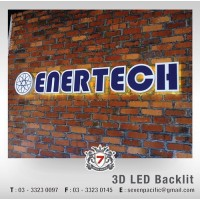 3D LED Backlit