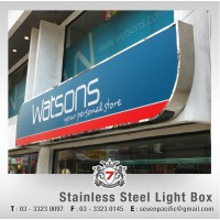 Stainless Steel Light Box