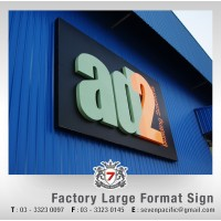 Factory Large Format Sign