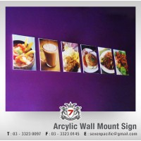 Acrylic Wall Mount Sign