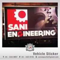 Sticker Printing for Vehicle