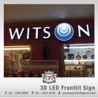 3D LED Frontlit Sign