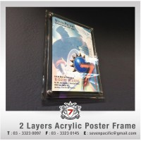 2 Layer Acrylic Poster Frame