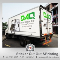 Lorry Sticker Print and Cut